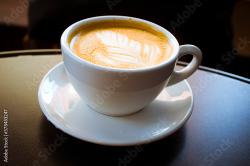 Fotografie, Obraz cup of coffee on the table