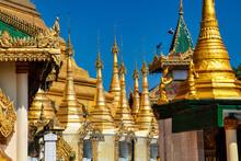 Kyaik Tan Lan Or Kyaikthanlan Pagoda In Mawlamyine, Mon State, Myanmar