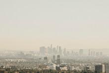 Sunny Cityscape, Los Angeles, ...