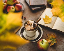 Autumn Still Life With A Cup O...