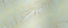 Luxury Golden Art Deco Wallpap...