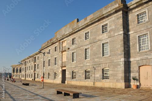 Stampa su Tela Restored Buildings in Royal William Dockyard, Plymouth