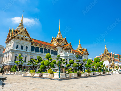 Fotografia Chakri Maha Prasart Throne Hall, one of the most important and beautiful hall in