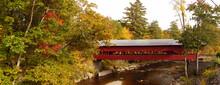 Covered Bridge, New Hampshire ...