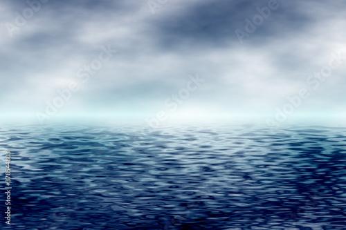 sky with ocean background © SANTANU