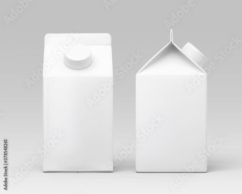 white milk carton box Canvas
