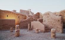 UNESCO World Heritage Site Ad Diriyah Near The Capital Of Saudi Arabia Riyadh