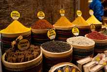 Different And Colorful Spices ...