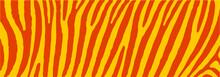 Africa, Safari Zebra Print. Animal Skin Prints. Wild Animals. Tiger Stripes, Stripe Sign. Vector Background Banner. Camouflage Line Pattern. Memphis Style, Vintage, Retro 80s, 90s.