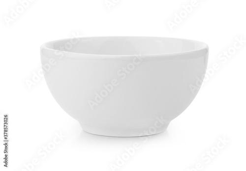Fotografia white bowl isolated on white background.