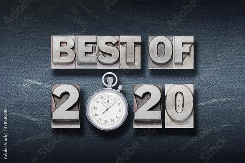 Fototapeta best of 2020 W den obraz
