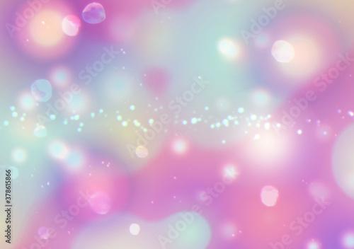 Fototapeta 抽象的な紫の光のイメージ