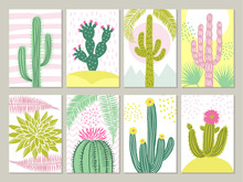 Cards Template With Pictures O...