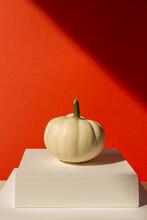 White Pumpkin On Stage