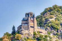 Burg Katz über St. Goarshause...