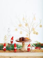 クリスマスカード 縦位置
