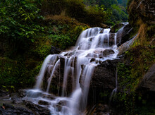 Waterfall In The Path Of Himal...