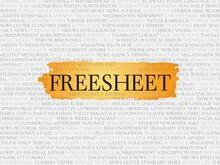 Freesheet
