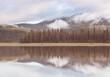 Leinwanddruck Bild Lake in Oregon