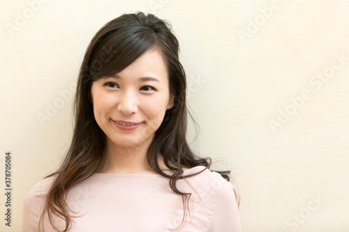 Fototapeta 笑顔の女性 obraz