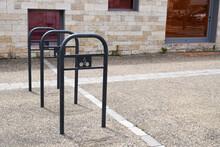 Metal Bicycle Parking Lot In S...