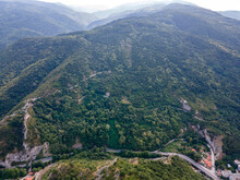 Chepelarska River Passing Through The Rhodope Mountain, Bulgaria