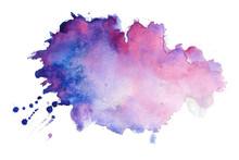 Watercolor Texture Splatter St...