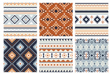Tribal Indian Seamless Pattern...