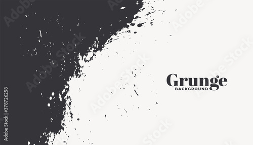 abstract grunge texture two color background design Fotobehang