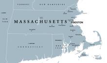 Massachusetts, Gray Political ...