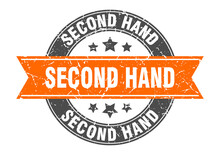 Second Hand Round Stamp With R...
