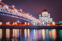 Christmas Evening In Moscow. N...