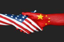 USA And China Partnership. Peo...