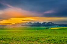 Slovakia High Tatras Panoramic...