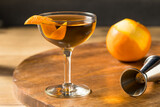Fototapeta Kawa jest smaczna - Boozy Classic Hanky Panky Cocktail
