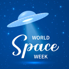 World Space Week Calligraphy H...