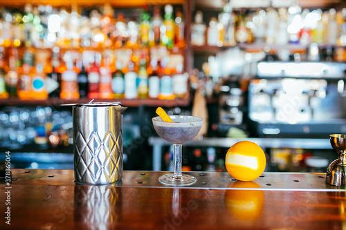 Fotografie, Obraz Mesa de bartender