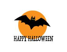 ハロウィンの蝙蝠