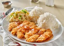 Chicken Katsu Hawaiian Bbq Pla...