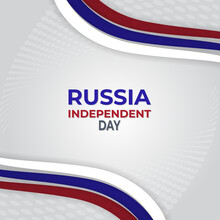 Independence Day Of Russia. Cr...