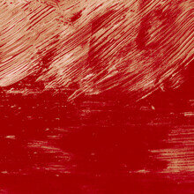 Abstract Red, Burgundy Gouache...