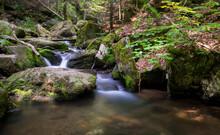 Czech Waterfall In Resov Near ...