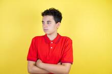 Beautiful Teenager Boy Over Is...