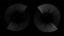 Circular Spiral Sound Wave Rhy...