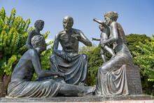 Denkmal Für Hippokrates In Ko...