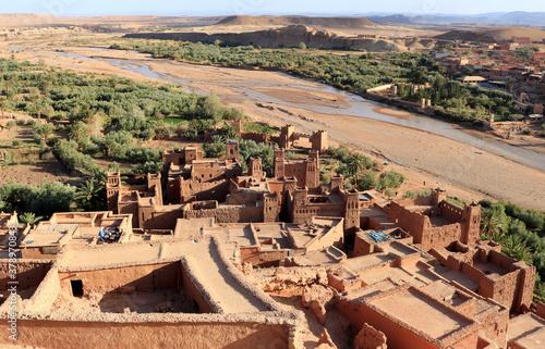 Carta da parati Kasbah of Ait Ben Haddou, Morocco