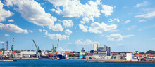 Shipyard City In Denmark