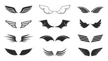 Monochrome Wings Set