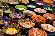 The Colored Ceramics With Turc...