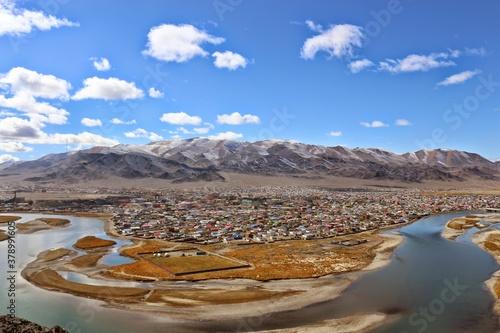 Ölgii, Mongolei Fotobehang